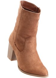 Bottines, BODYFLIRT, marron clair