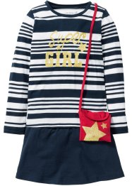 T-shirt + jupe + petit sac (Ens. 3 pces.), bpc bonprix collection