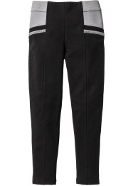 Pantalon extensible à empiècements et zips, bpc bonprix collection