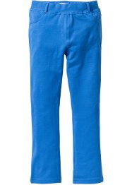 Pantalon extensible forme bootcut, bpc bonprix collection, bleu glacier