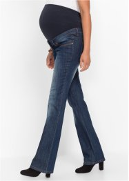 Jean de grossesse Bootcut, bpc bonprix collection, dark bleu stone