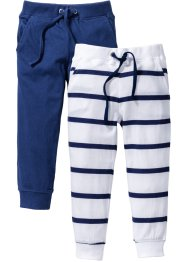 Lot de 2 pantalons en jersey, bpc bonprix collection