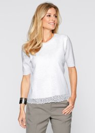 Pull, bpc selection, blanc