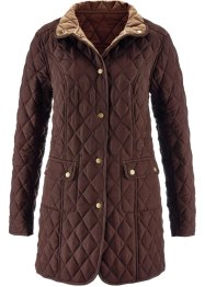 Veste matelassée, bpc selection, marron/beige