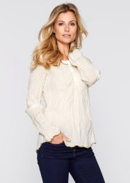 Blouse, bpc selection, beige/marron