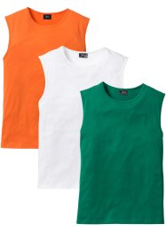 Lot de 3 débardeurs regular fit, bpc bonprix collection