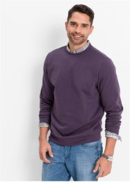 Sweatshirt regular fit, bpc bonprix collection, myrtille