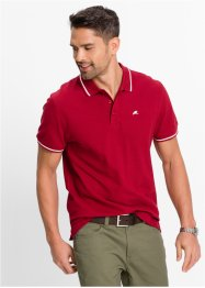 Polo regular fit, bpc bonprix collection, rouge