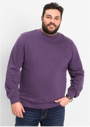 Sweat-shirt Regular Fit, bpc bonprix collection, myrtille