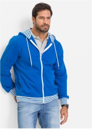 Gilet sweat-shirt Regular Fit, bpc bonprix collection, bleu azur