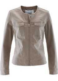 Veste en twill, bpc bonprix collection, taupe