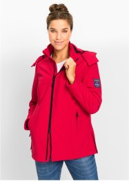 Veste softshell extensible, bpc bonprix collection, rouge