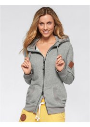 Veste sweatshirt manches longues, bpc bonprix collection