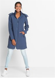 Manteau fonctionnel softshell, bpc bonprix collection, indigo