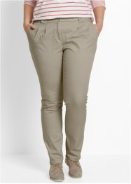 Pantalon chino extensible, bpc bonprix collection, sable