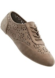 Derbies à lacets, bpc bonprix collection, taupe