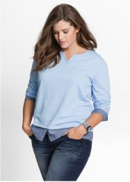 Sweat-shirt style 2 en 1, John Baner JEANSWEAR