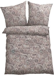 Linge de lit Pia, bpc living, marron clair