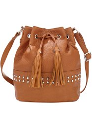 Sac bourse, bpc bonprix collection, cognac