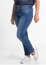 "Jean power stretch ""ventre jambes fessiers remodelés"" SLIM, John Baner JEANSWEAR, bleu new"