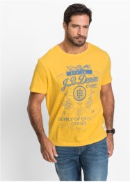 T-shirt Regular Fit, John Baner JEANSWEAR, jaune