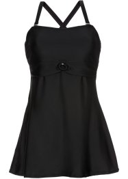 Tankini long (Ens. 2 pces.), bpc selection, noir