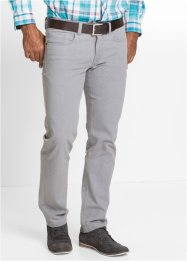 Jean extensible Regular Fit Straight, bpc selection, gris clair