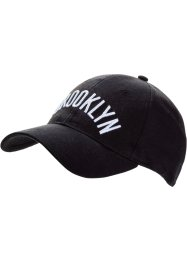 Casquette Brooklyn, bpc bonprix collection, noir