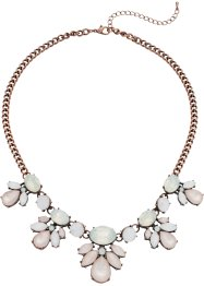 Collier avec pierres pastel, bpc bonprix collection, pastel vintage