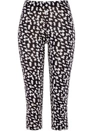 Leggings corsaire, bpc selection, noir/blanc