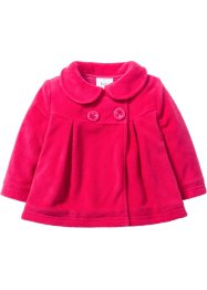 Veste polaire bébé, bpc bonprix collection, rose hibiscus
