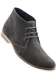 Bottines en cuir, bpc selection, anthracite