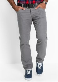 Pantalon 5 poches Regular Fit, Straight, bpc bonprix collection, gris fumée