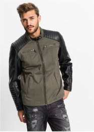 Blouson synthétique imitation cuir Regular Fit, RAINBOW