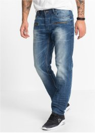 Jean Regular Fit Straight, RAINBOW, bleu dirty