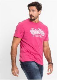 T-shirt regular fit, John Baner JEANSWEAR, fuchsia moyen