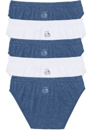 Lot de 6 slips avec imprimé ourson, bpc bonprix collection