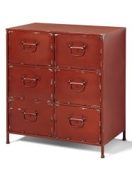Commode Jasmin, bpc living, rouge