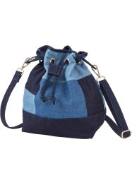 Sac pochon denim patchwork, bpc bonprix collection