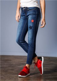 Jean skinny longueur cheville, RAINBOW, dark denim