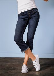 Jean cropped flare, RAINBOW, bleu stone