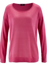 Pull oversize, bpc bonprix collection, fuchsia moyen