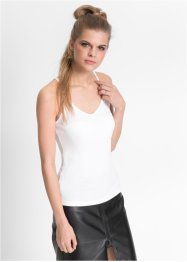 Lot de 2 tops, RAINBOW, blanc/noir