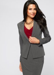 Blazer, BODYFLIRT boutique, gris clair chiné