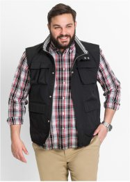 Blouson outdoor sans manches Regular Fit, bpc selection, noir