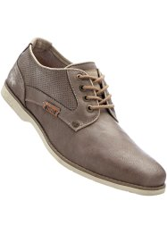 Chaussures à lacets Mustang, Mustang, marron daim