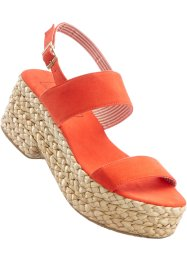 Sandales, bpc bonprix collection, orange