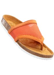 Mules entredoigt, bpc bonprix collection, orange