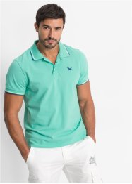 Polo Regular Fit, bpc bonprix collection, vert menthe