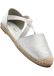 Espadrilles, bpc bonprix collection, argenté